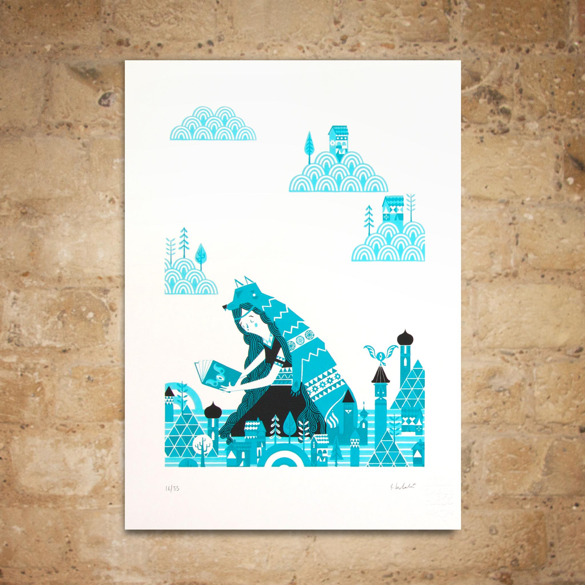 Stuart Kolakovic 'Fox' Print