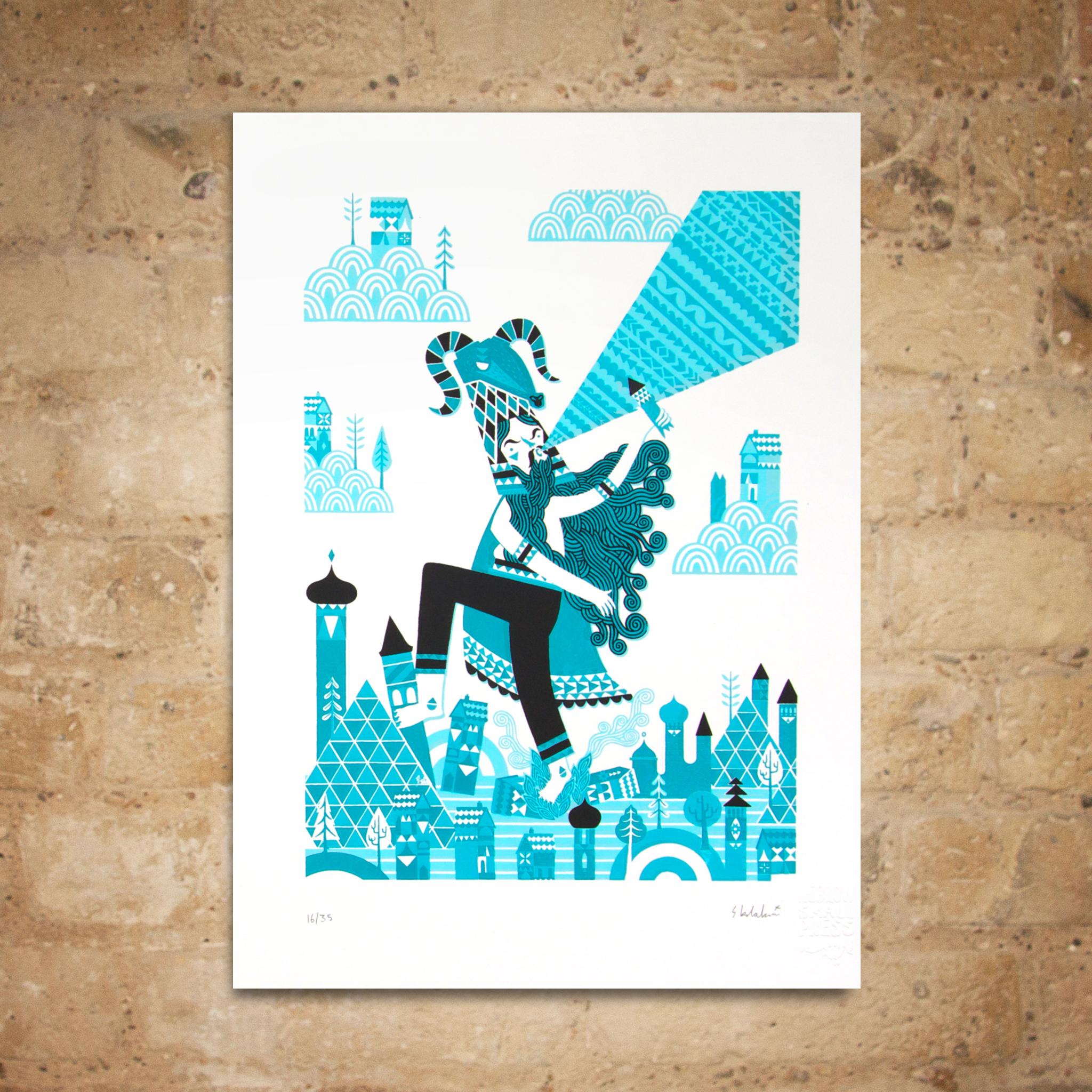 Stuart Kolakovic 'Goat' Print