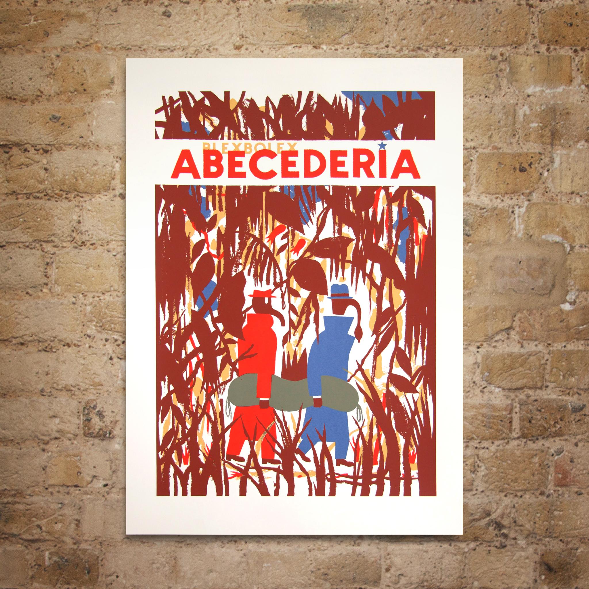 Abecederia Screenprint