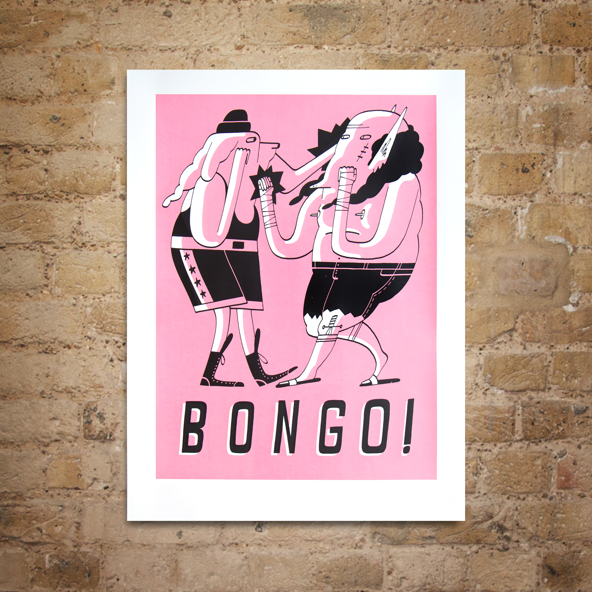 Bongo! print by Matt the Horse
