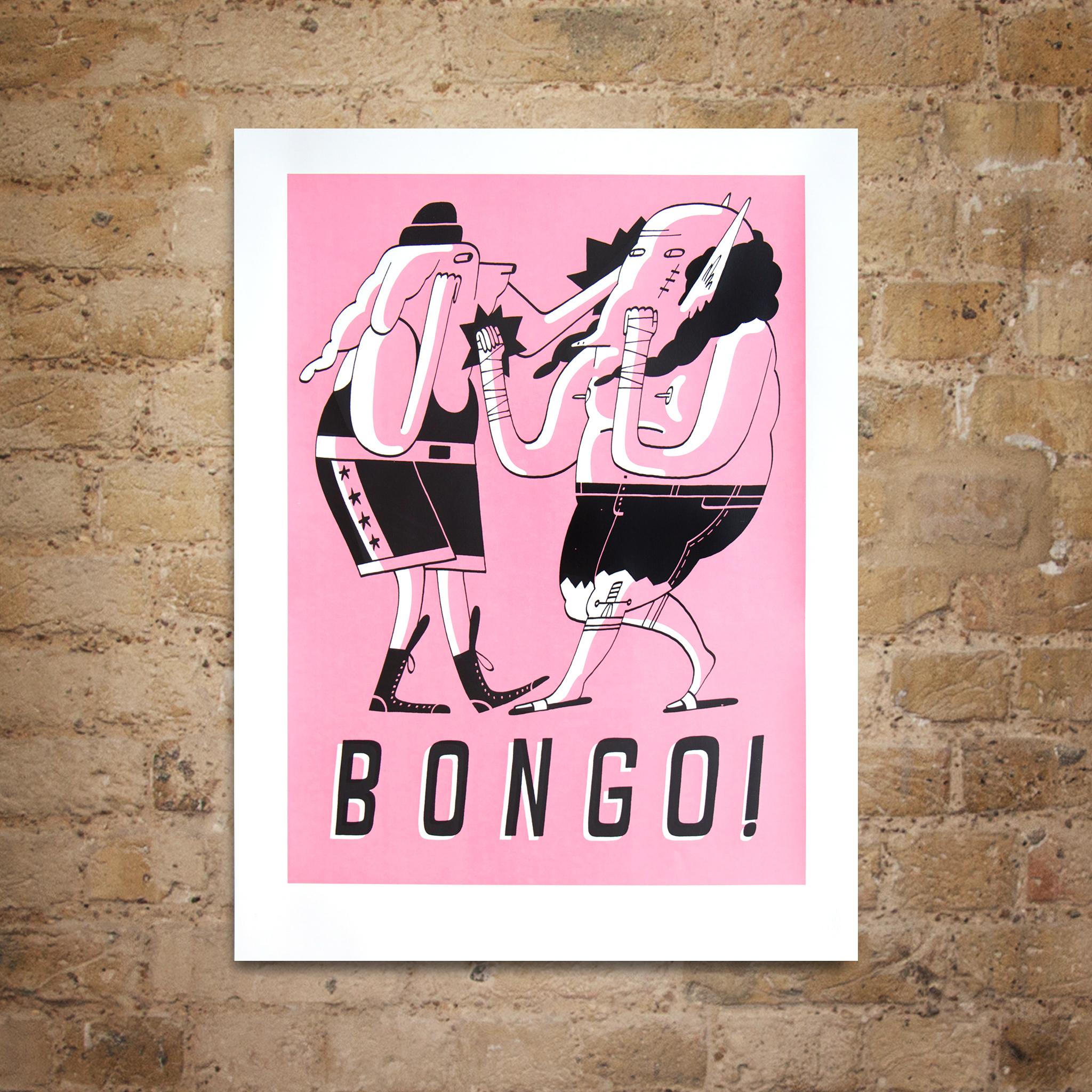 Bongo! print by Matt the Horse
