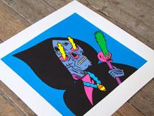 Warlock Print