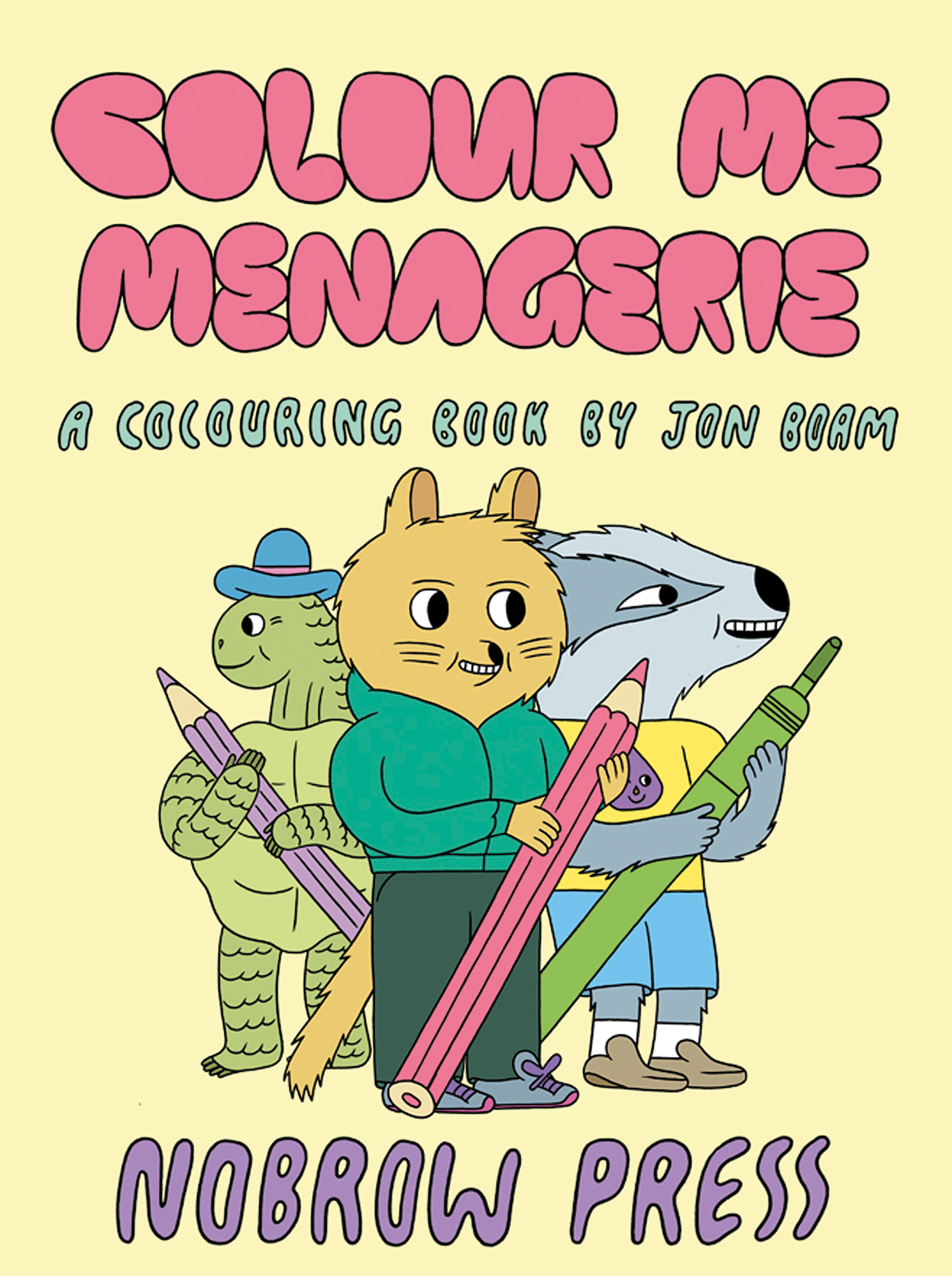 Colour Me Menagerie