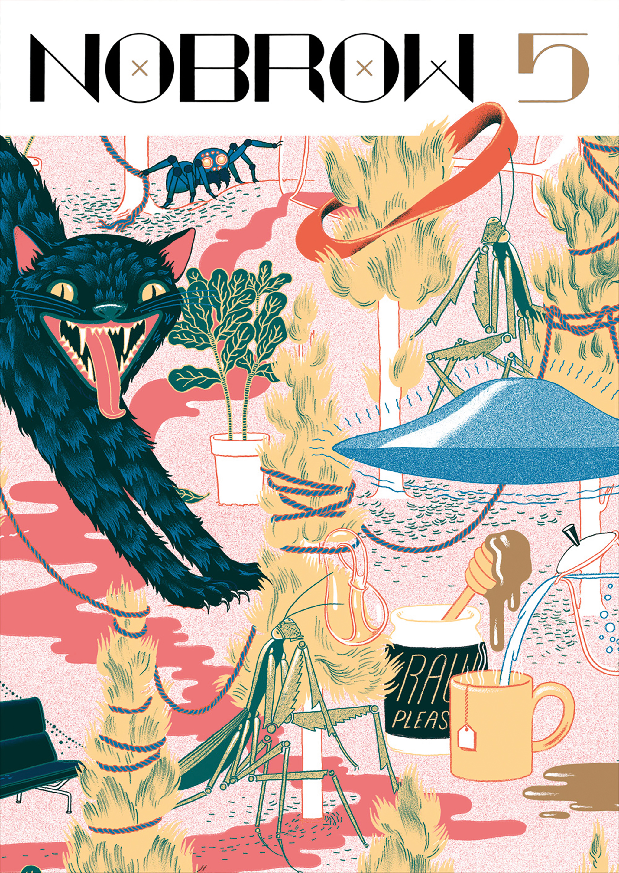 Nobrow 5: A Few of my Favourite Things