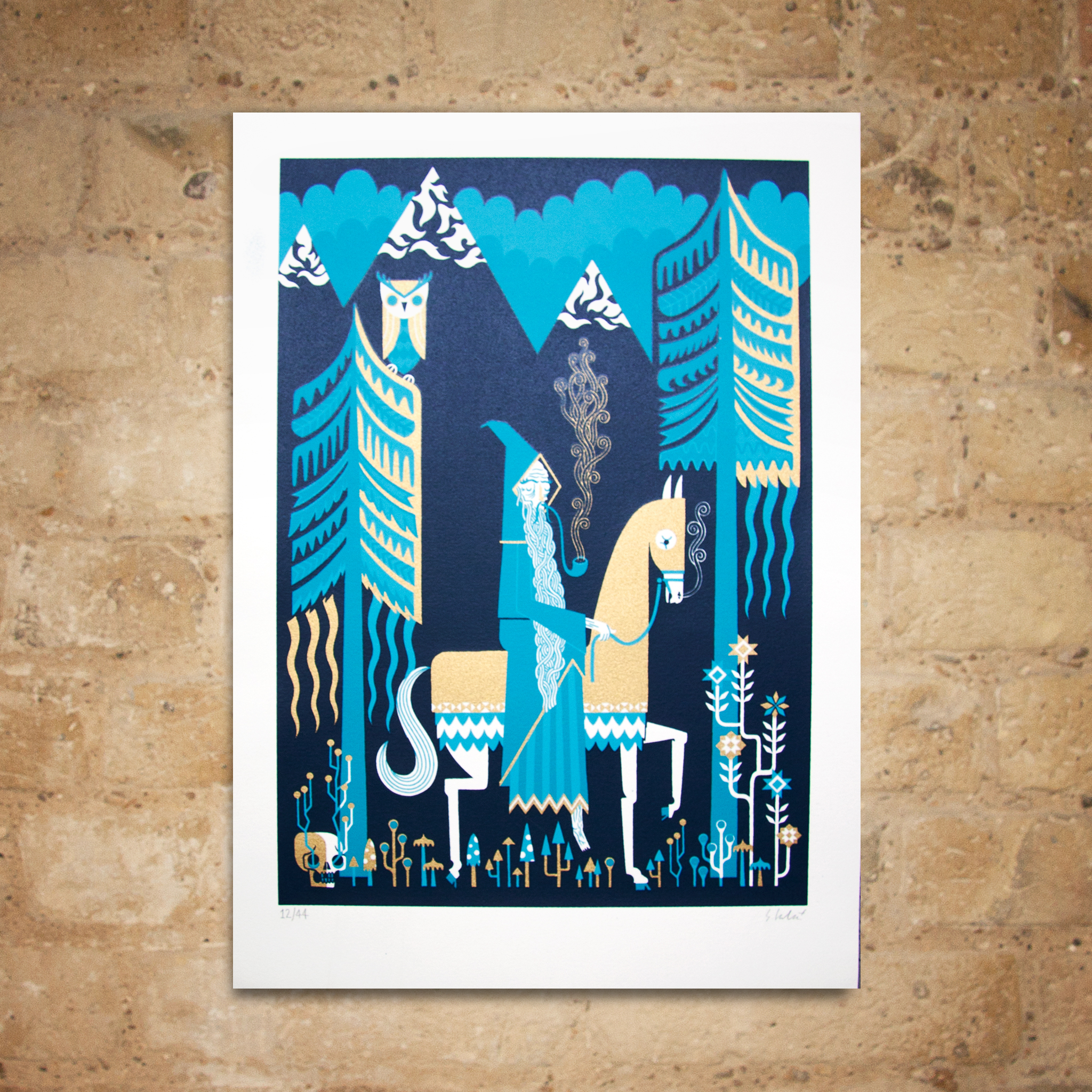 Wizard Print by Stuart Kolakovic