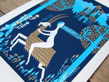 Witch Print by Stuart Kolakovic