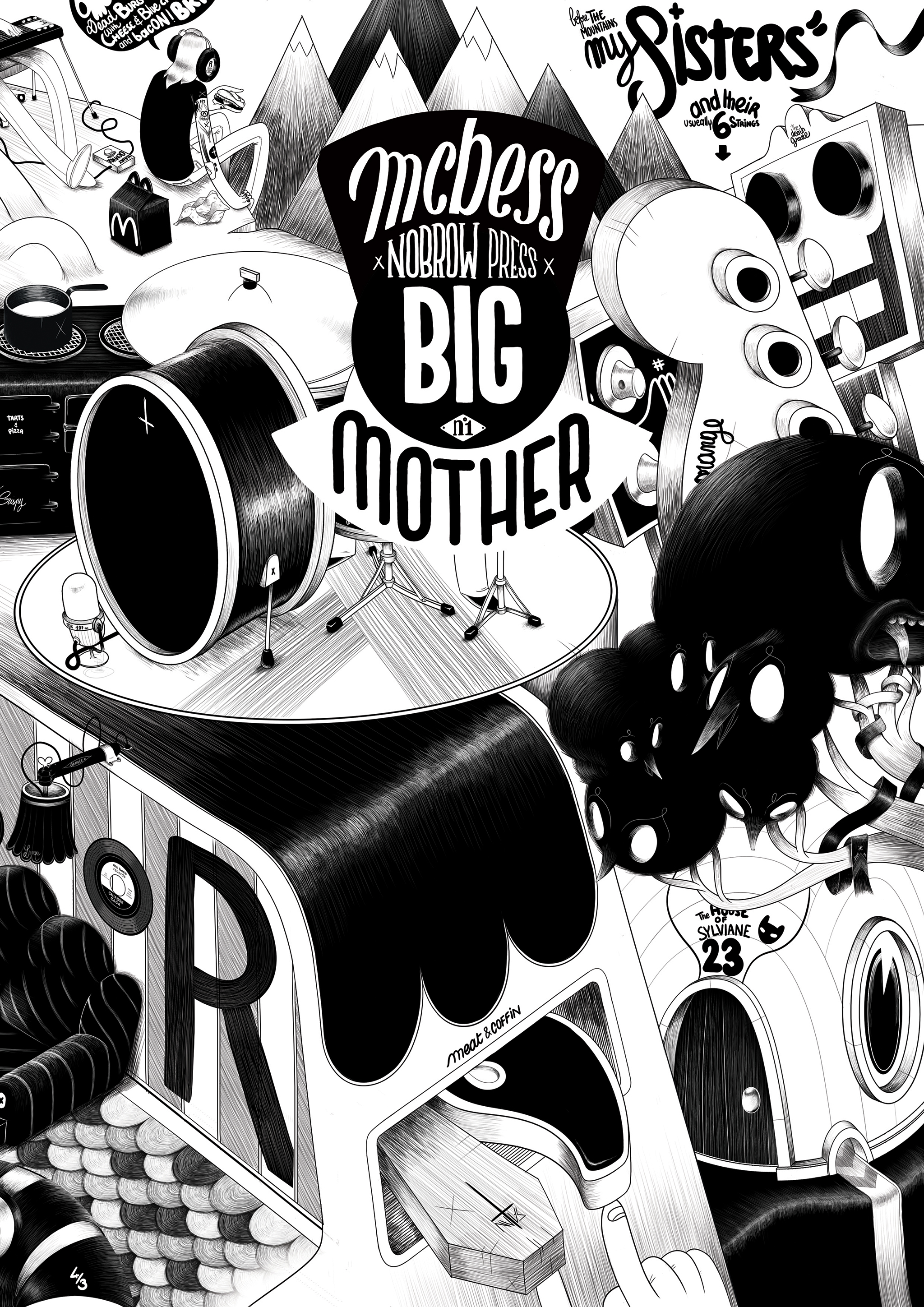 Big Mother # 1: McBess (Limited Edition)