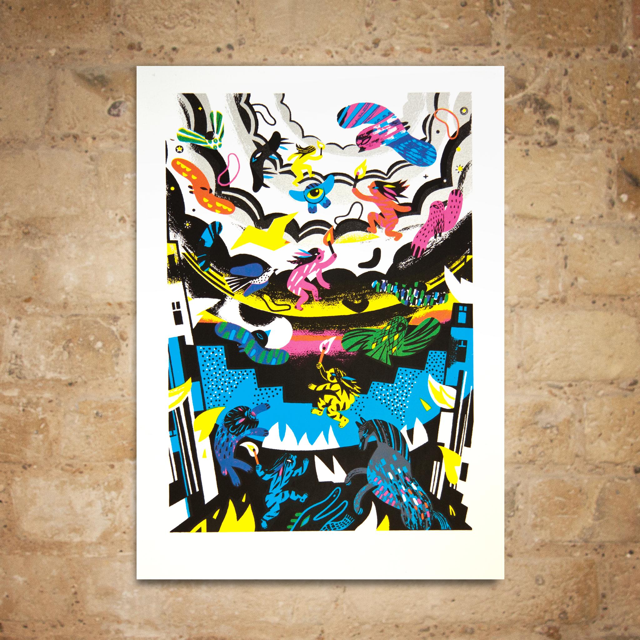 Gwenola Carrere print