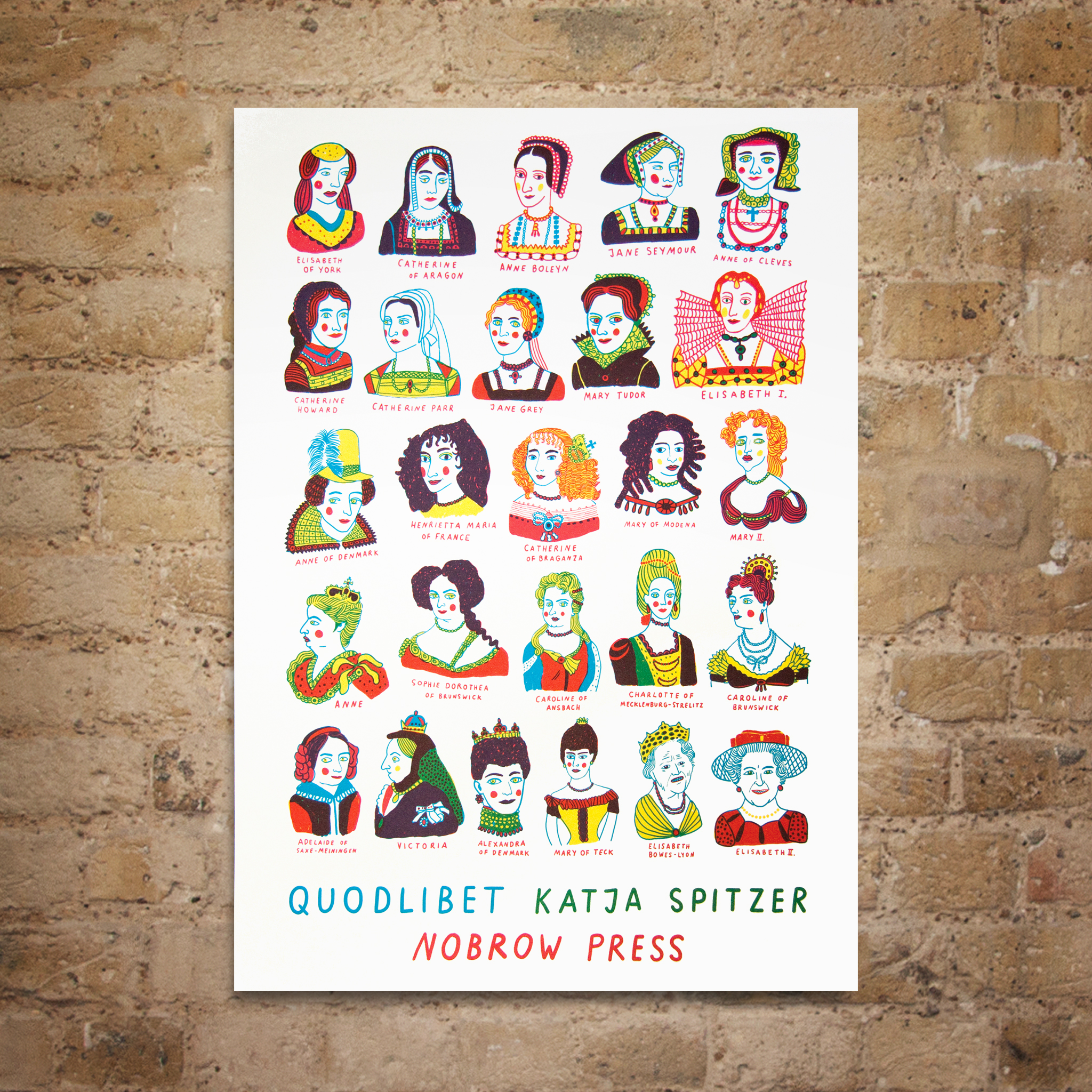 Queens Spot Litho Print