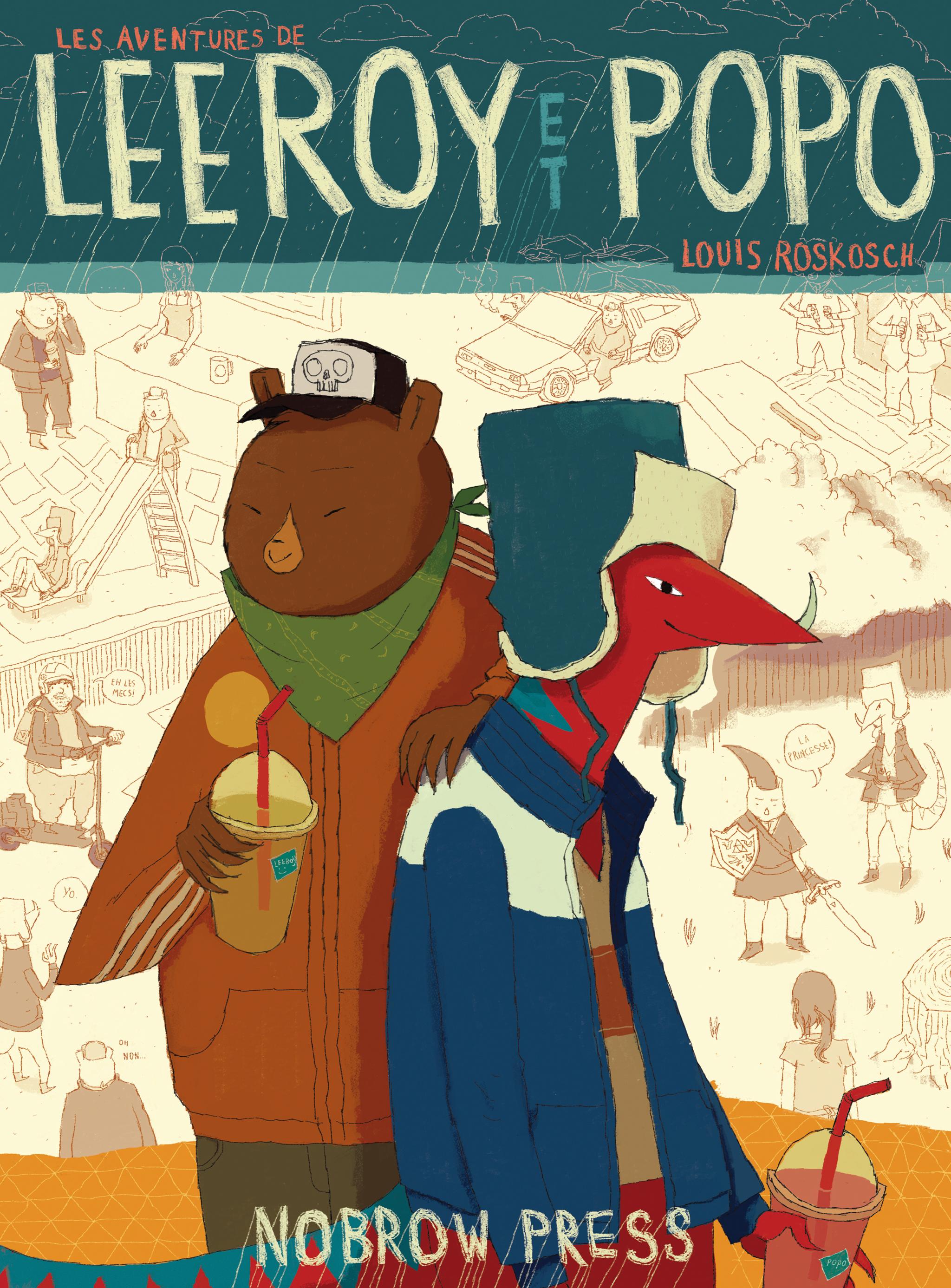 Leeroy et Popo (French)