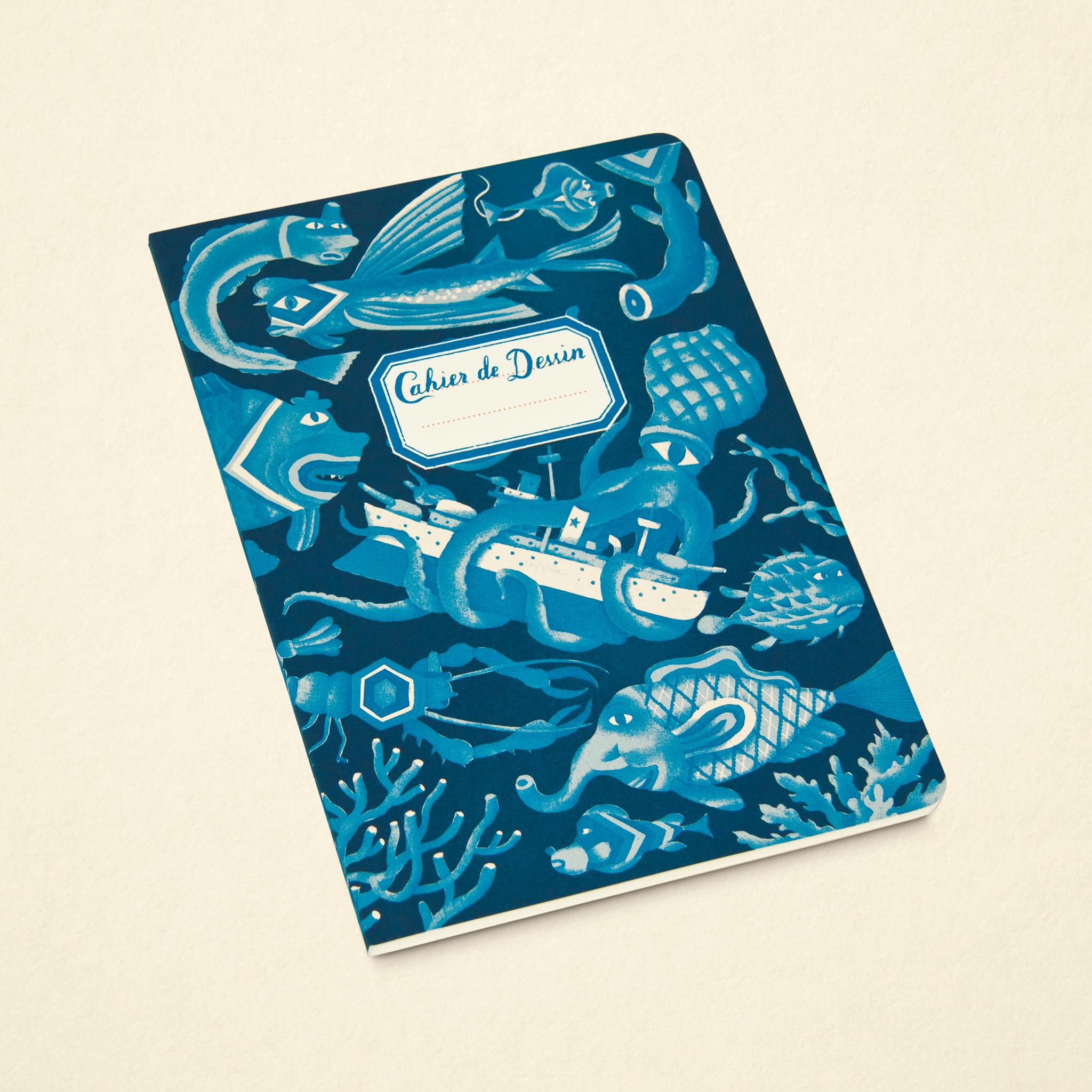 Sketchbook – Sea Blue (Large)
