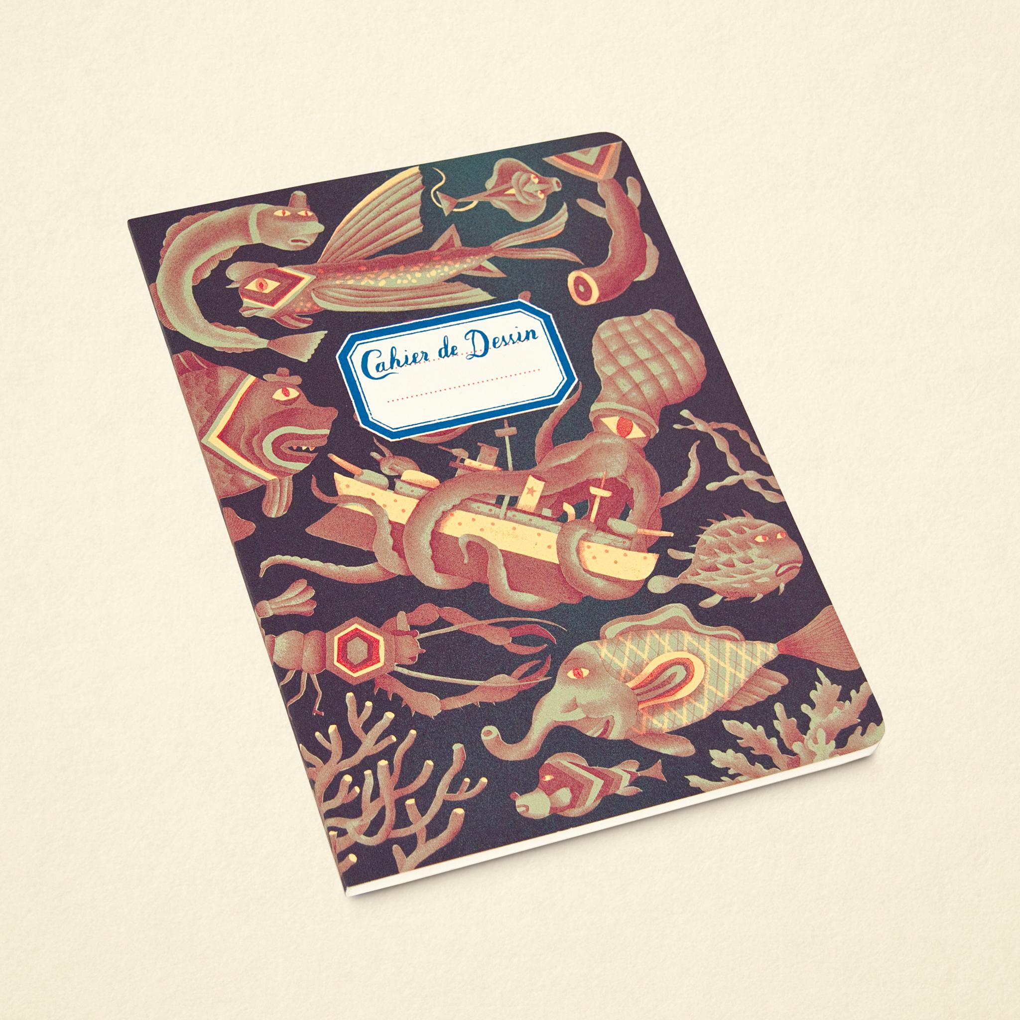 Sketchbook – Sea Red (Large)