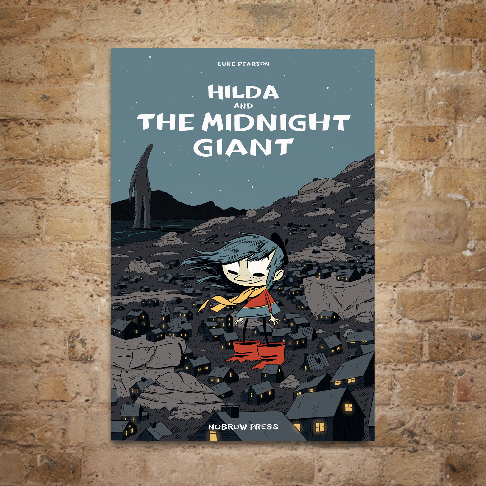 Hilda and the Midnight Giant Litho Poster