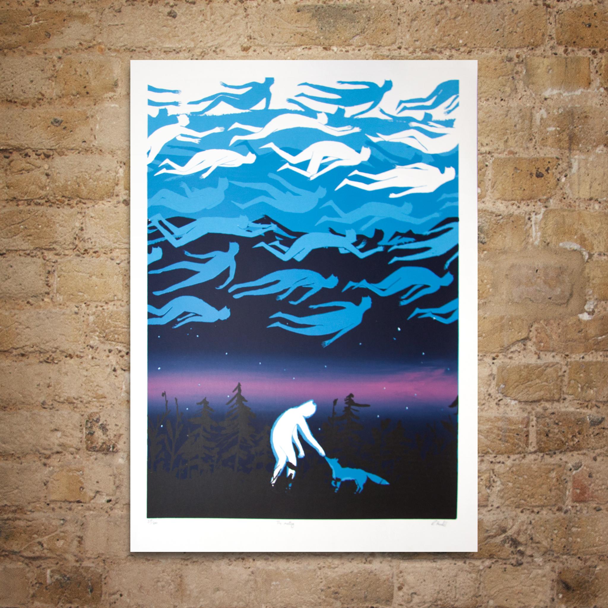 The Meeting print by Rob Hunter