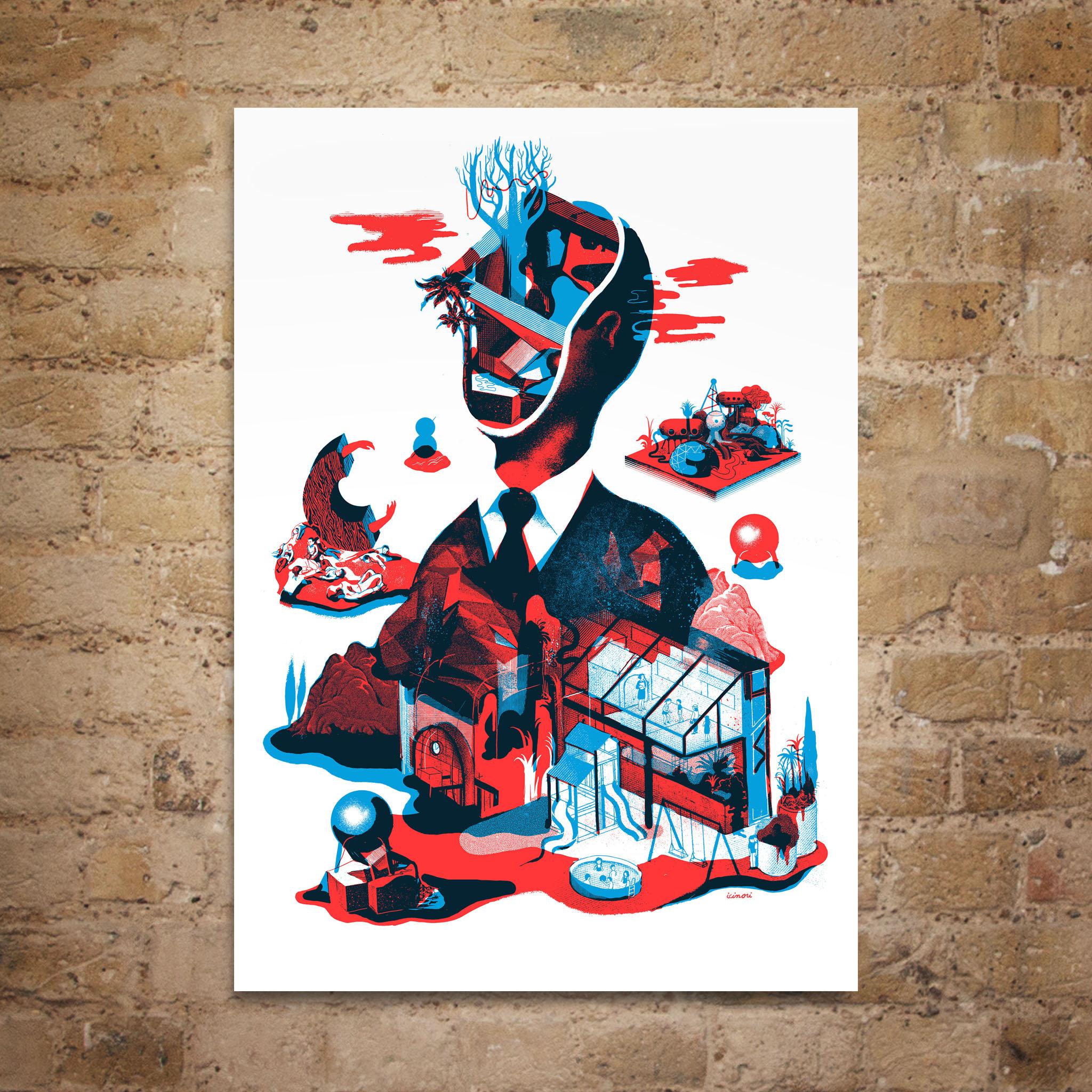 Icinori ELCAF Print