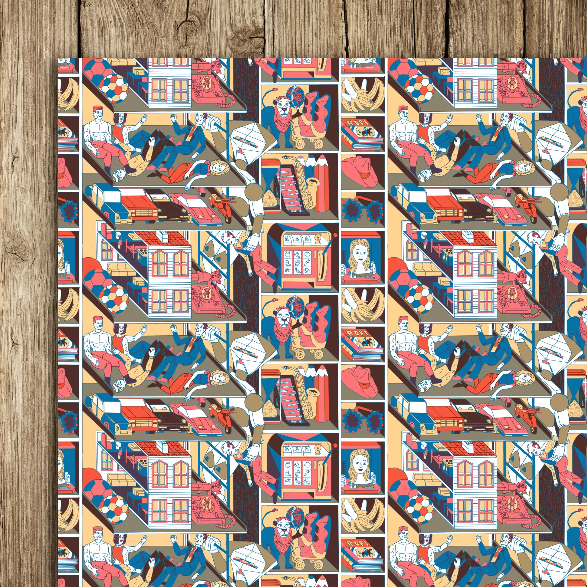 Paul Paetzel Wrap (5 sheets)