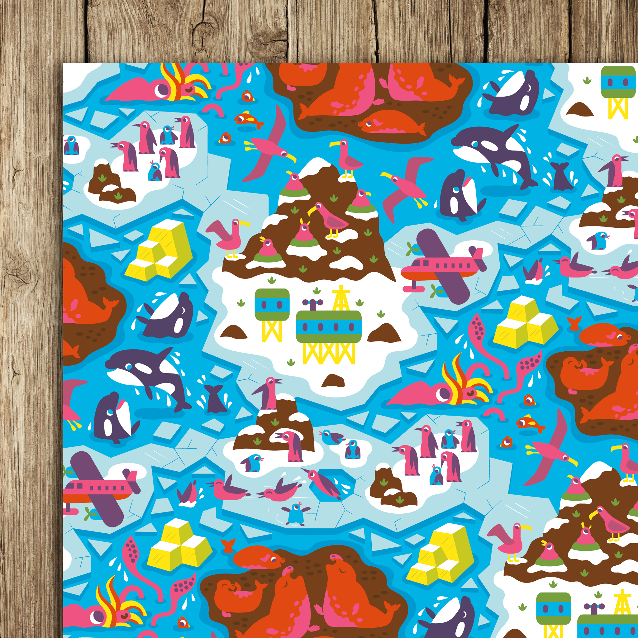 Antarctic Wrap (5 sheets)
