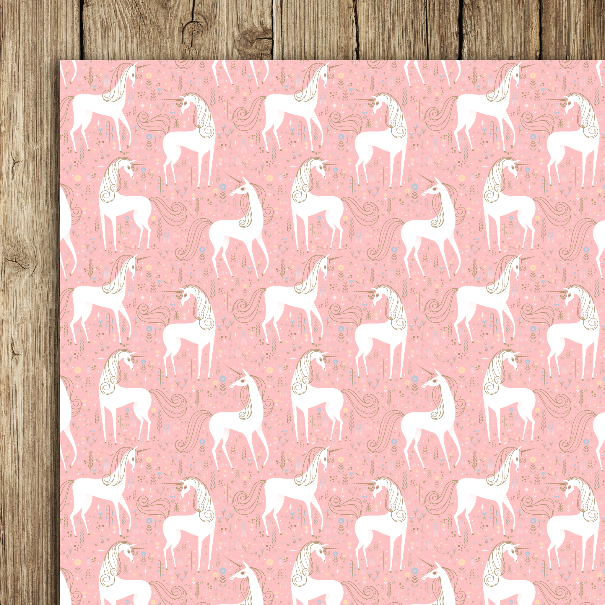 Unicorns Wrap (5 sheets)