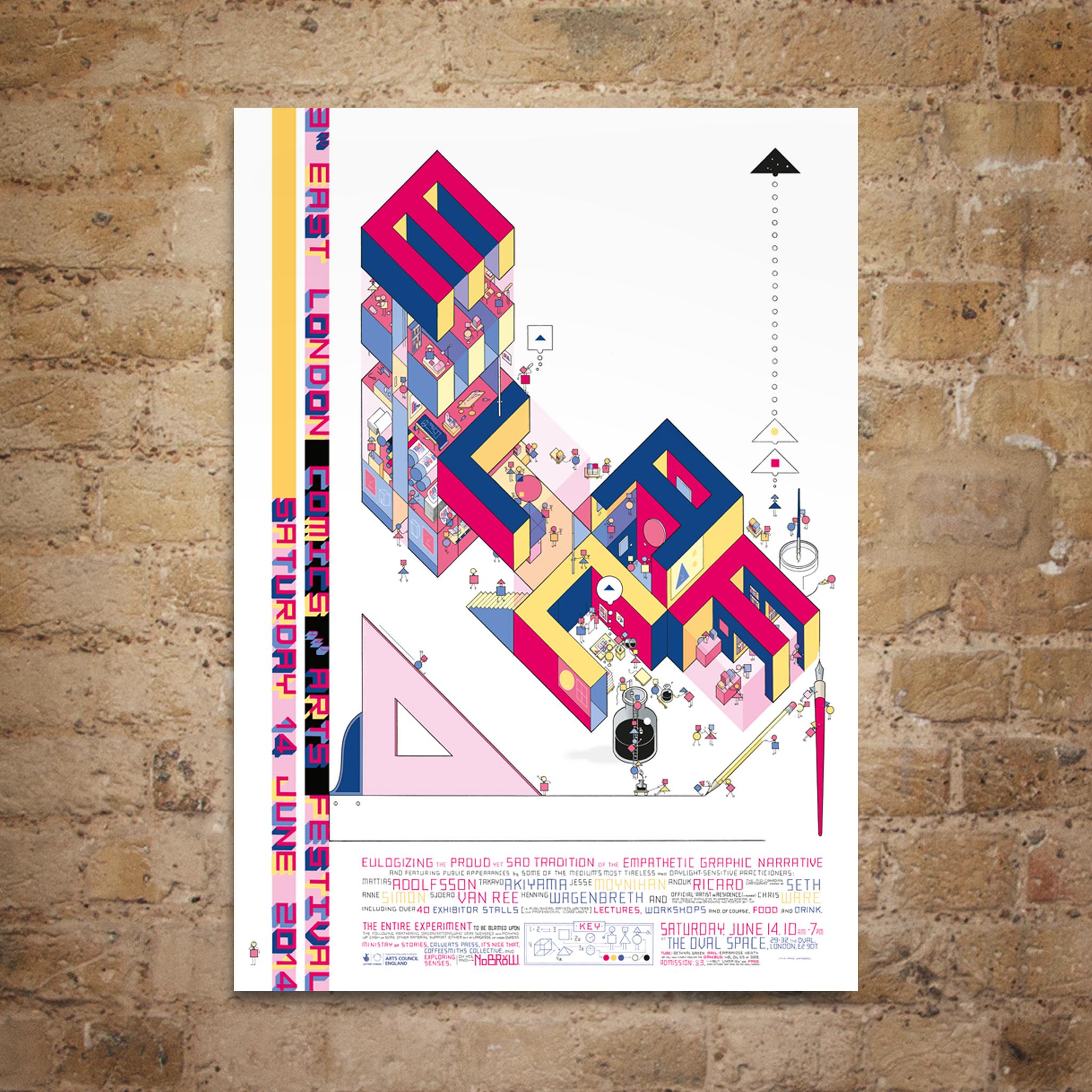 ELCAF Chris Ware Poster