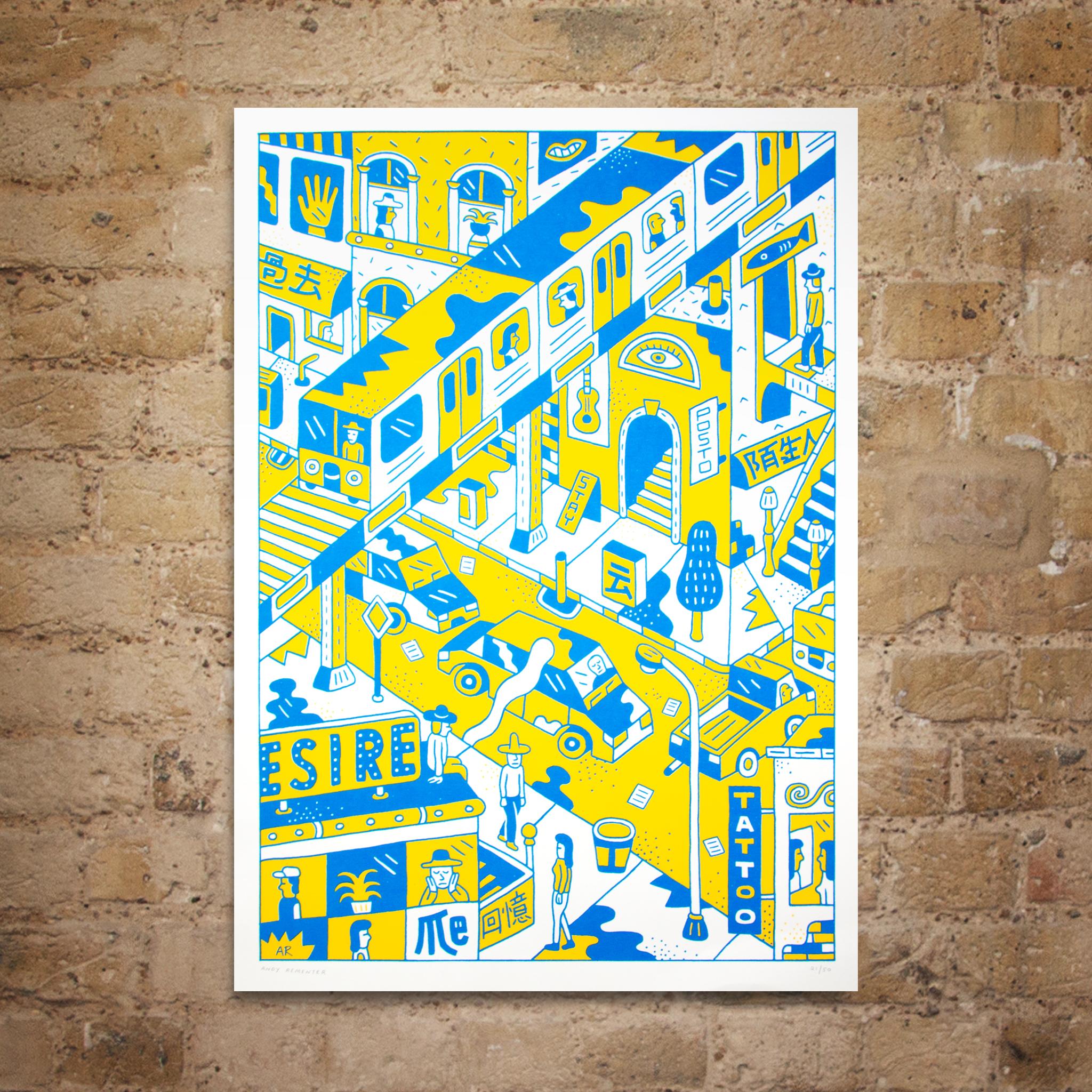 Andy Rementer ELCAF Print