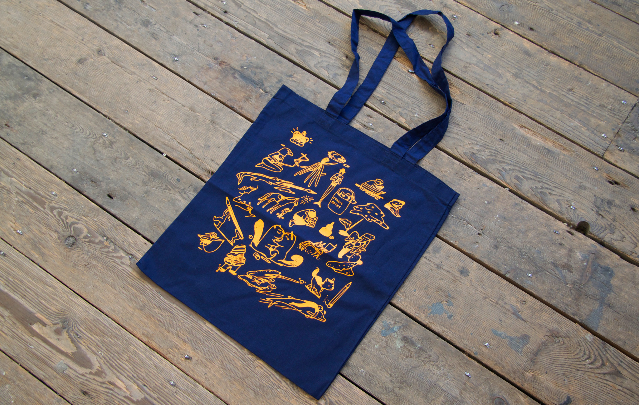 Limited Edition Jillian Tamaki ELCAF Tote Bag
