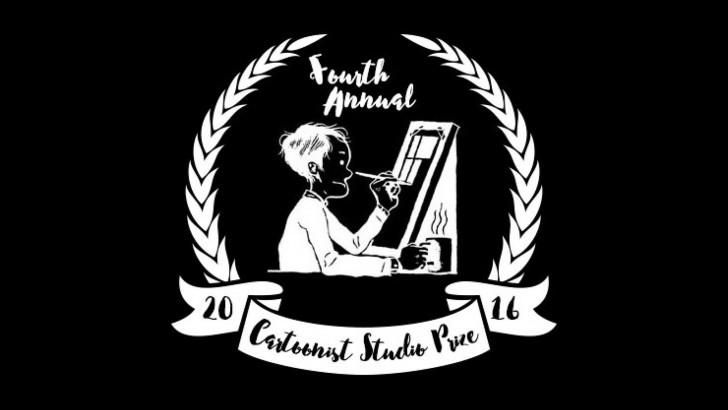 CURVEBALL is on The Cartoonist Studio Prize shortlist!