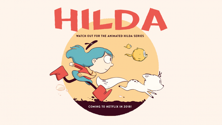 Hilda is coming to Netflix!!