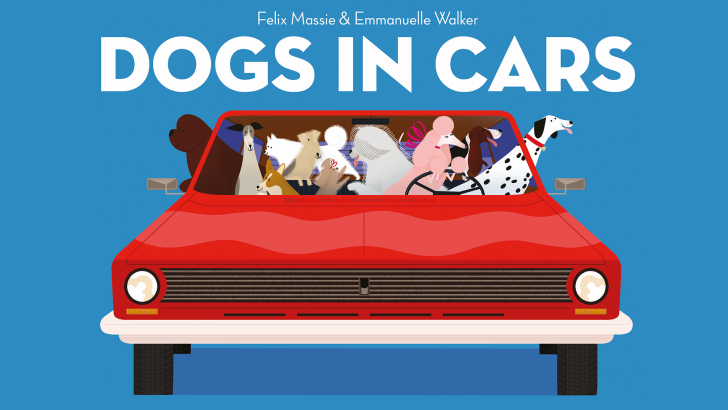 🐶 Beep Beep, Woof Woof, it's Dogs in Cars! 🚗