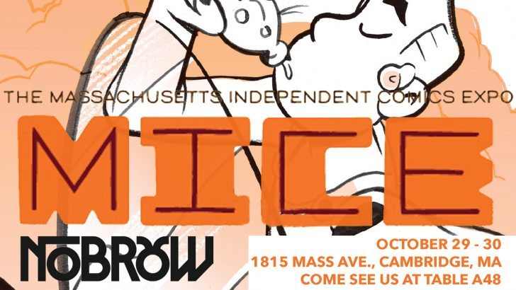 PARTY TIME! Kick off MICE with us at Hub Comics!