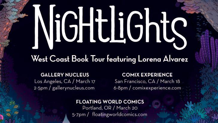 The Nightlights West Coast Book Tour!