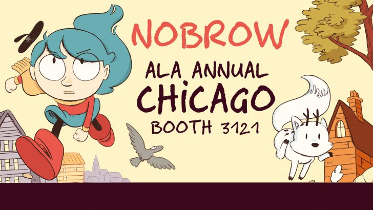 Nobrow is coming to ALA Chicago!