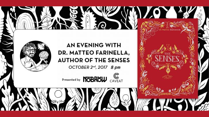 An Evening with Dr. Matteo Farinella and THE SENSES!