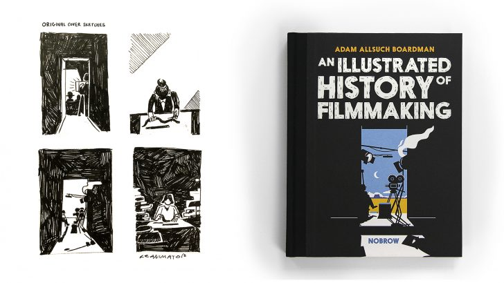 Behind-the-Scenes on An Illustrated History of Filmmaking