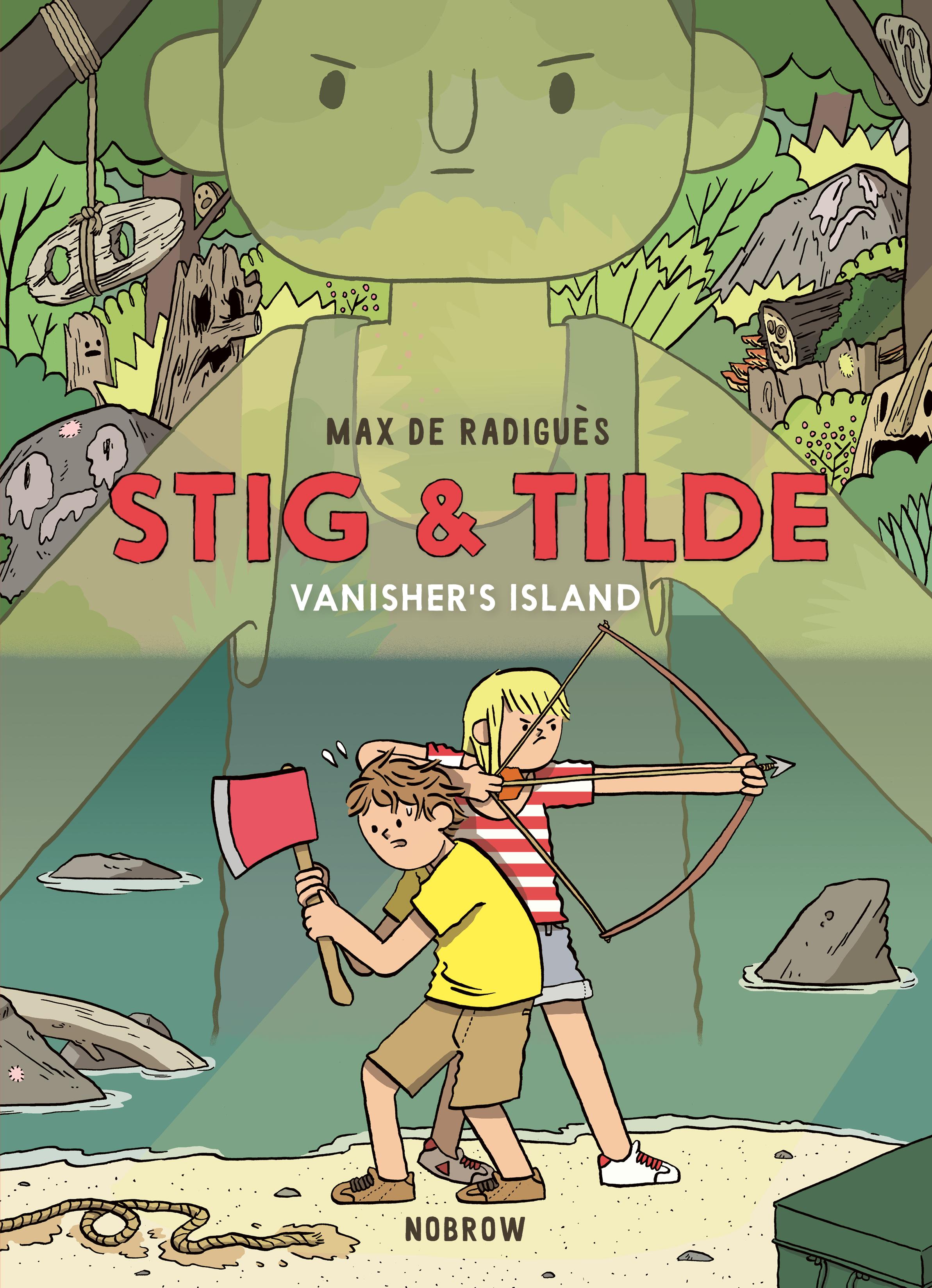 Stig and Tilde: Vanisher's Island